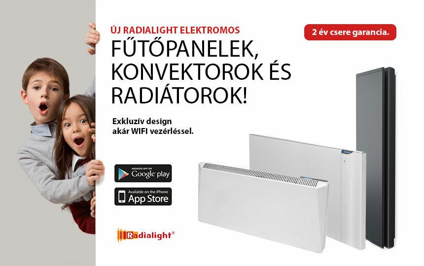 Radialight konvektorok