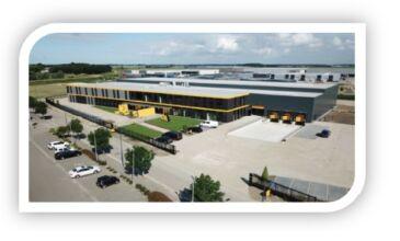 C&F Technics Iroda és Logisztikai központ