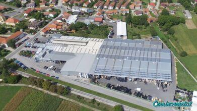 Gyártói és Logisztikai központ, Macinec (Miksavár) Horvátország