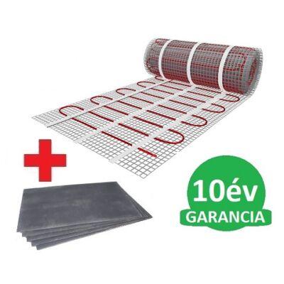 8 m2 U-HEAT fűtőszőnyeg +  8,4 m2 U-HEAT polisztirol szigetelő lap szett